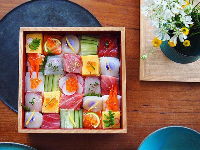 tu sushi mieng, nguoi nhat chuyen sang me man sushi ghep hinh - 1