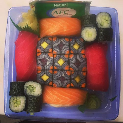 tu sushi mieng, nguoi nhat chuyen sang me man sushi ghep hinh - 9
