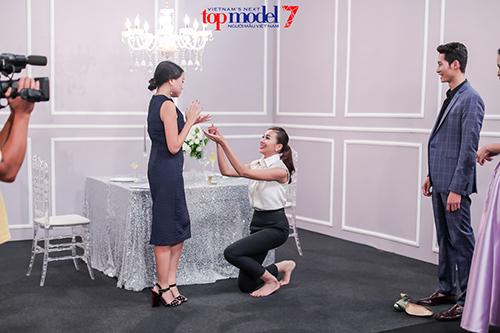 giam khao next top model dien sau hon ca thi sinh khi quay quang cao - 5