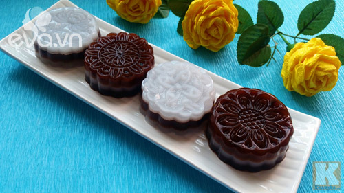 Bánh Trung thu rau câu vị cacao thanh mát-6