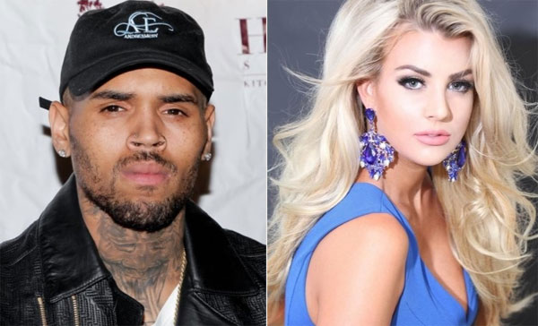 chris brown vua bi bat vi chia sung vao dau cuu hoa hau california - 1