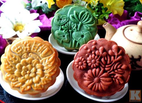 Bánh Trung thu nướng không đường cho người ít ăn ngọt-12