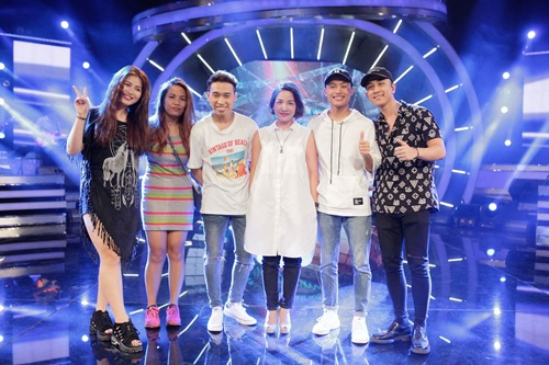Diva Mỹ Linh xinh đẹp đi dạy hát cho thí sinh Vietnam Idol-11