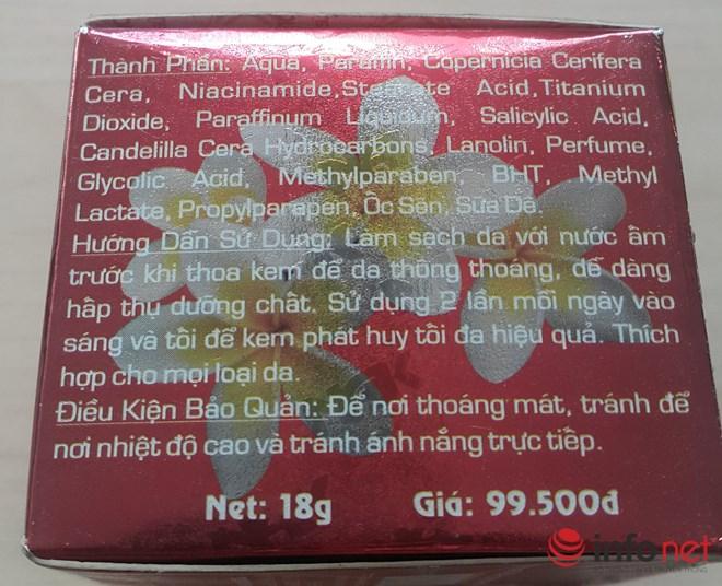 """giat minh voi hang loat kem ngua mun, duong trang da chua chat """"la"""" - 1"""
