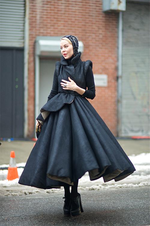 Phát ghen với thời trang cổ tích của vợ tỷ phú Nga-9