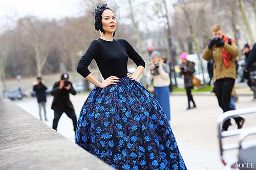Phát ghen với thời trang cổ tích của vợ tỷ phú Nga-5