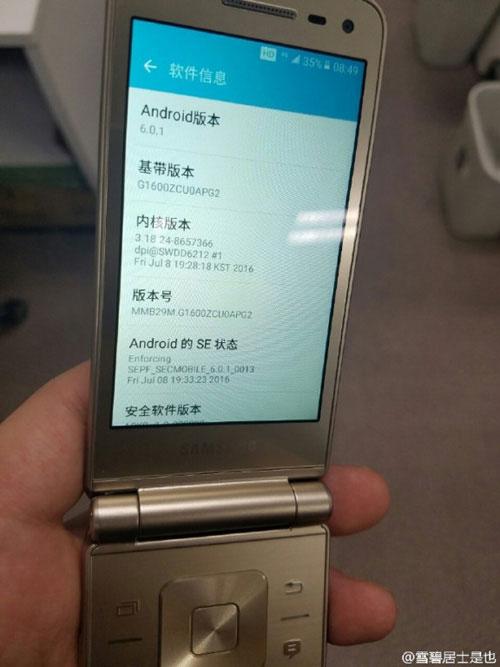 Trên tay smartphone nắp gập Galaxy Folder 2 sắp ra mắt-2