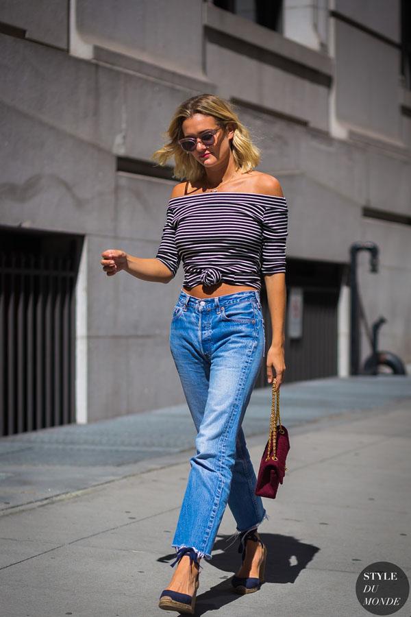 Mặc quần jeans như thế nào để đồ cũ vẫn đẹp, vẫn tôn dáng?-14