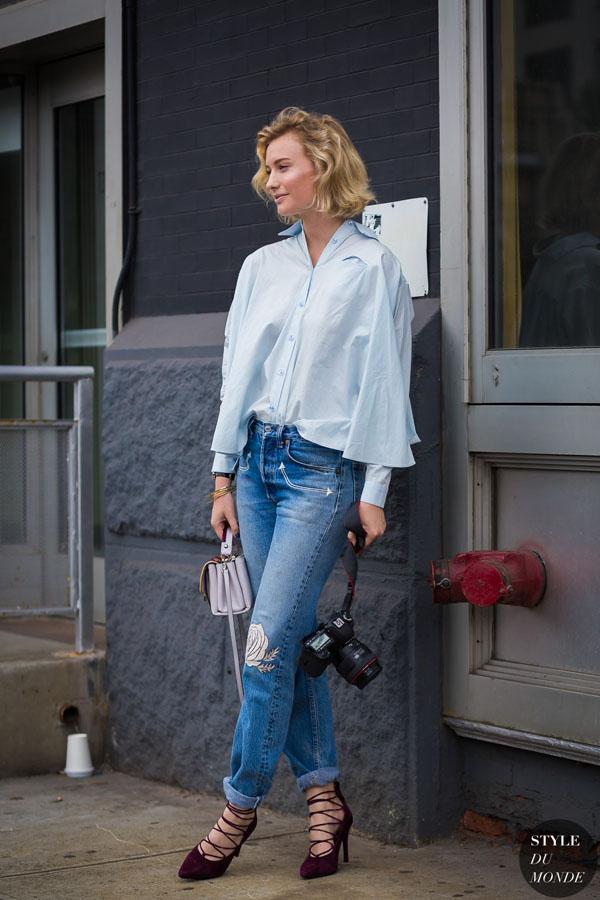 Mặc quần jeans như thế nào để đồ cũ vẫn đẹp, vẫn tôn dáng?-6