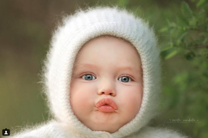 """Rung rinh trước biểu cảm """"đỡ không nổi"""" của các bé sơ sinh-1"""
