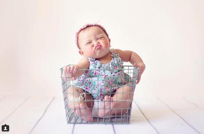 """Rung rinh trước biểu cảm """"đỡ không nổi"""" của các bé sơ sinh-2"""