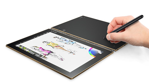 lenovo yoga book, tablet 2 trong 1 bo tui doc nhat vo nhi - 6