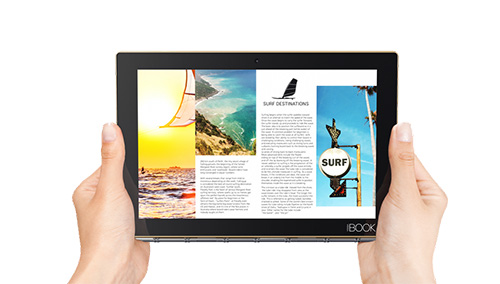 lenovo yoga book, tablet 2 trong 1 bo tui doc nhat vo nhi - 4