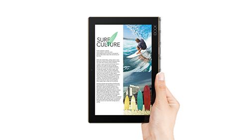 lenovo yoga book, tablet 2 trong 1 bo tui doc nhat vo nhi - 3