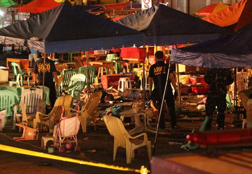 Nổ chợ đêm kinh hoàng tại Philippines, 12 người thiệt mạng-4