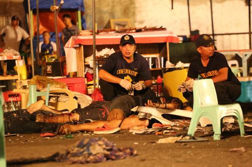 Nổ chợ đêm kinh hoàng tại Philippines, 12 người thiệt mạng-6