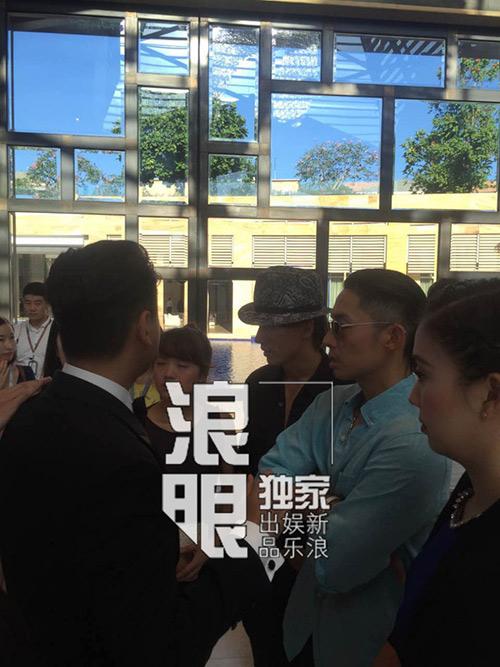 Ngôn Thừa Húc, Ngô Kiến Hào hội ngộ trong đám cưới Chu Hiếu Thiên-3