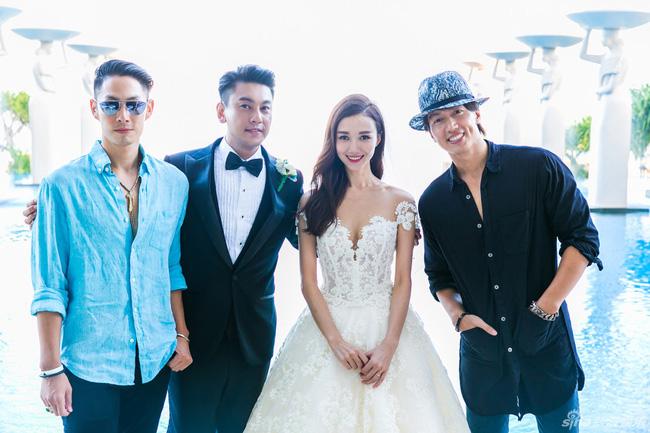 Ngôn Thừa Húc, Ngô Kiến Hào hội ngộ trong đám cưới Chu Hiếu Thiên-5