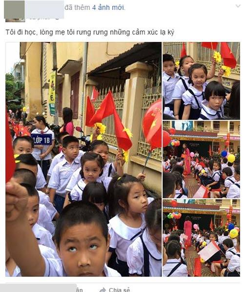 Facebook ngập tràn sắc đỏ cờ hoa ngày khai giảng-3