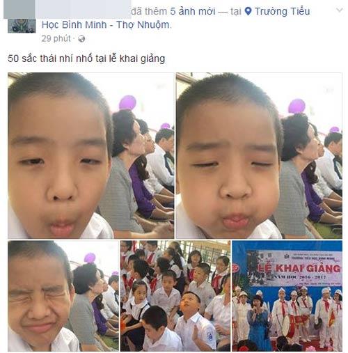 Facebook ngập tràn sắc đỏ cờ hoa ngày khai giảng-4