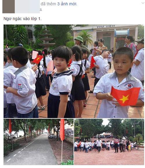 Facebook ngập tràn sắc đỏ cờ hoa ngày khai giảng-11