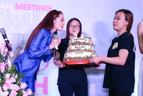 """tra my idol """"tron"""" chong con di chuc mung sinh nhat bao anh - 7"""