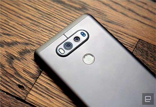 lg v20 chinh thuc ra mat, dien thoai dau tien chay android 7.0 nougat - 7