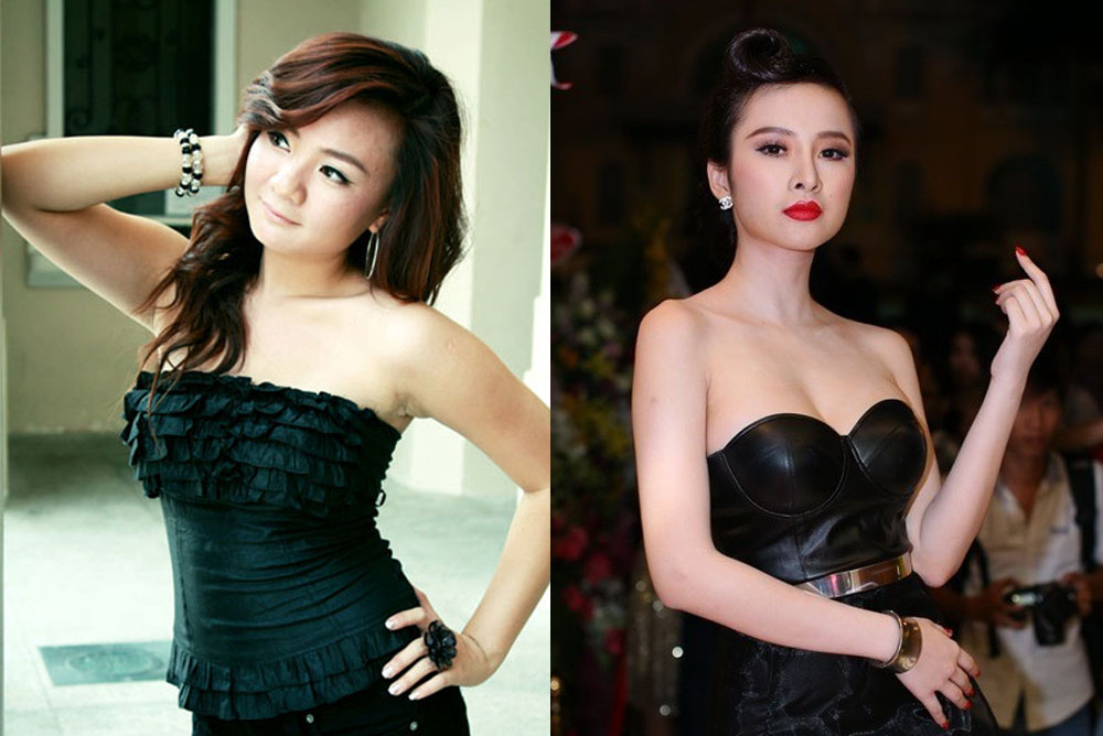 "2 sao nhi ""be xuan mai"", angela phuong trinh bay gio ra sao? - 7"