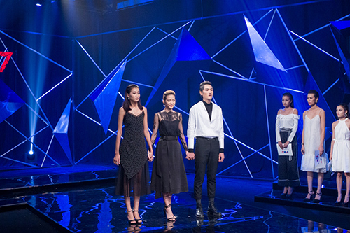 """chi ca"" nha chung vietnam's next top model 2016 bi loai o tap 9 - 16"