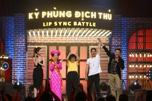 """ky phung dich thu: ngoc trinh """"choang"""" voi anh tay mac ao dai bat chuoc my linh - 20"""