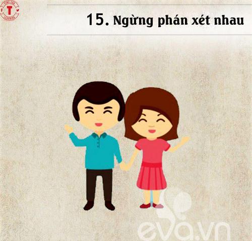 20 bí mật của cặp vợ chồng hạnh phúc-14