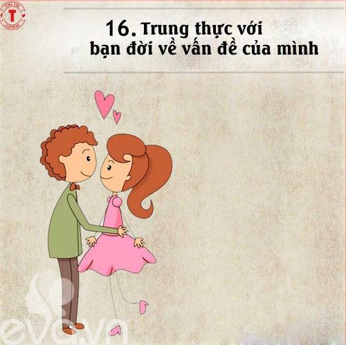 20 bí mật của cặp vợ chồng hạnh phúc-15