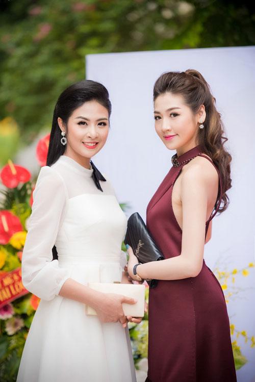 Cuối tuần bận rộn của HH Ngọc Hân, Á hậu Tú Anh cùng dàn người đẹp-5