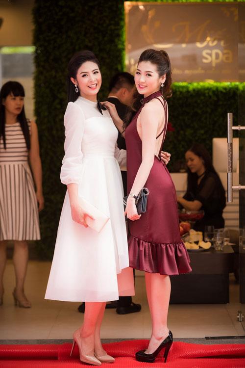 Cuối tuần bận rộn của HH Ngọc Hân, Á hậu Tú Anh cùng dàn người đẹp-7