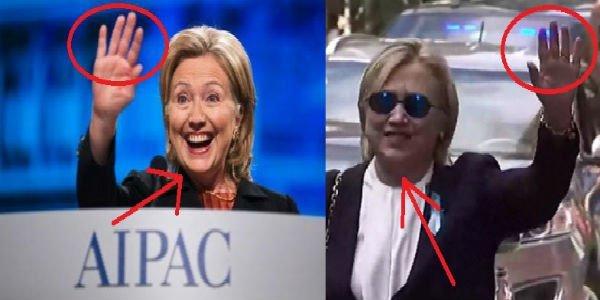 Bà Hillary Clinton có người đóng thế sau khi bị bệnh nặng?-1