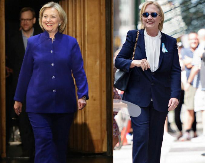 Bà Hillary Clinton có người đóng thế sau khi bị bệnh nặng?-2