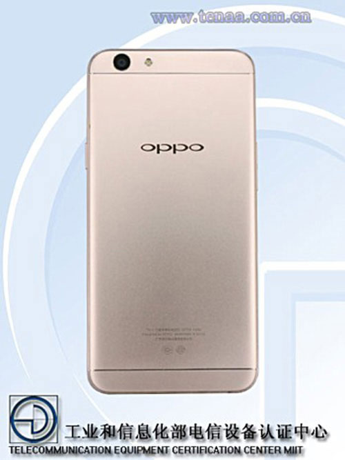 oppo a59s dung ram 4gb, camera truoc 16mp sap ra mat - 2