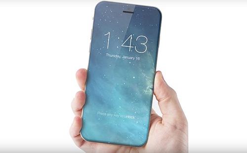 iphone 8 cua apple co man hinh tran canh, nut home ao - 1