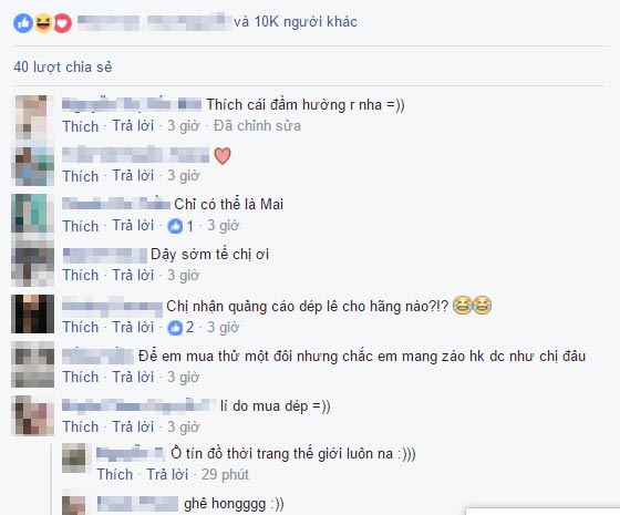 chi co mai ngo moi co the tu tin mac nhu the nay ra duong - 3
