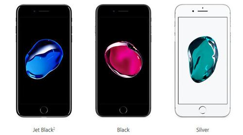 "apple xac nhan iphone 7 va iphone 7 plus jet black ""chay hang"" - 1"