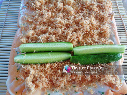 banh bong lan cuon kieu sushi ngon me ly - 7