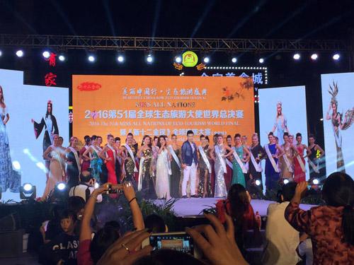 lai thanh huong thang the, lot top 12 nguoi dep moi tai miss all nations - 6