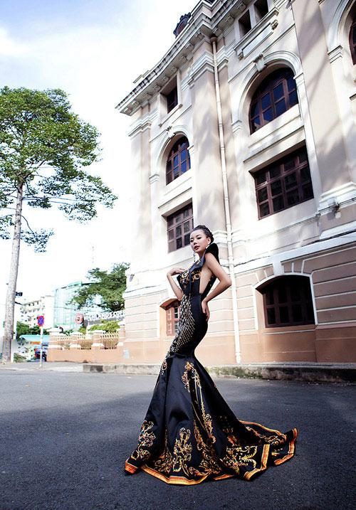 lai thanh huong thang the, lot top 12 nguoi dep moi tai miss all nations - 1