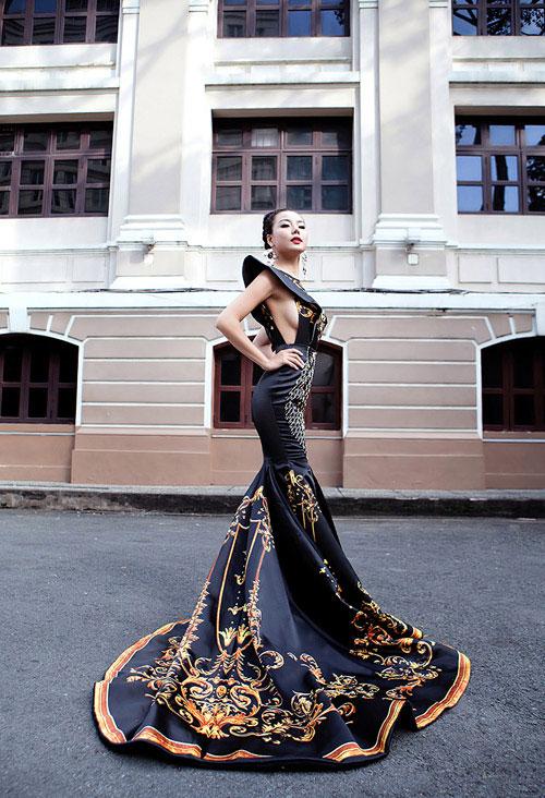 lai thanh huong thang the, lot top 12 nguoi dep moi tai miss all nations - 3