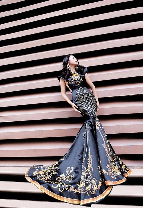 lai thanh huong thang the, lot top 12 nguoi dep moi tai miss all nations - 4