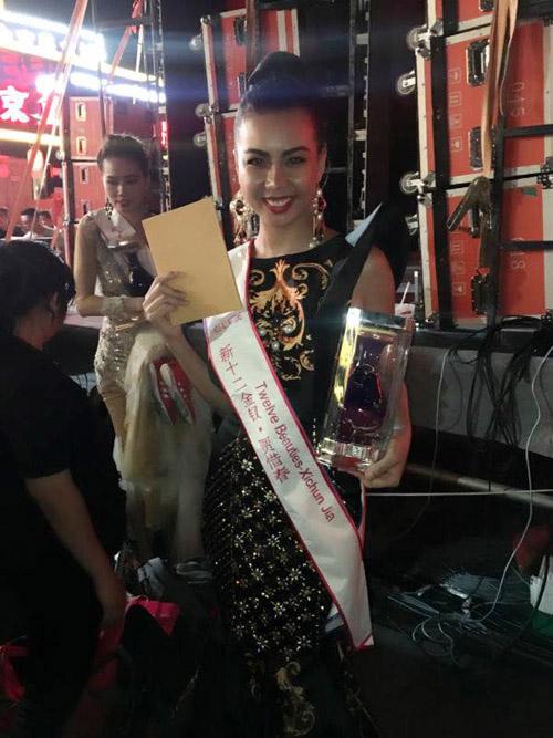 lai thanh huong thang the, lot top 12 nguoi dep moi tai miss all nations - 10