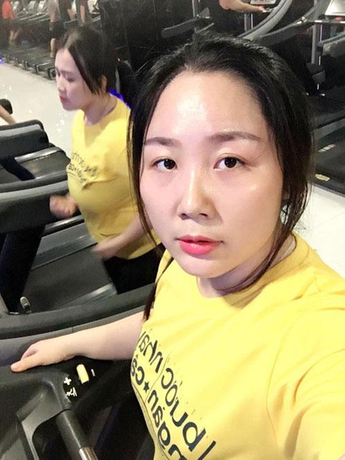 """sau sinh, 9x tang 32kg van duoc chong khen nuc no """"em la dep nhat"""" - 4"""