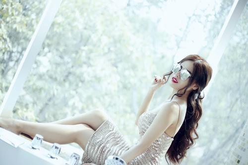 """hotgirl nguyen phuong ly: """"thanh cong den tu su no luc"""" - 5"""