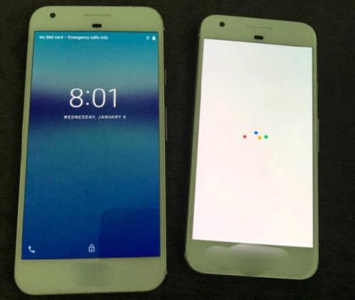 ro ri hinh anh 2 chiec dien thoai google pixel: qua giong iphone 7 - 3