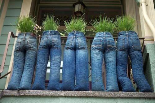 muon kieu sang tao khien ban cuoi lan tu quan jeans cu - 1